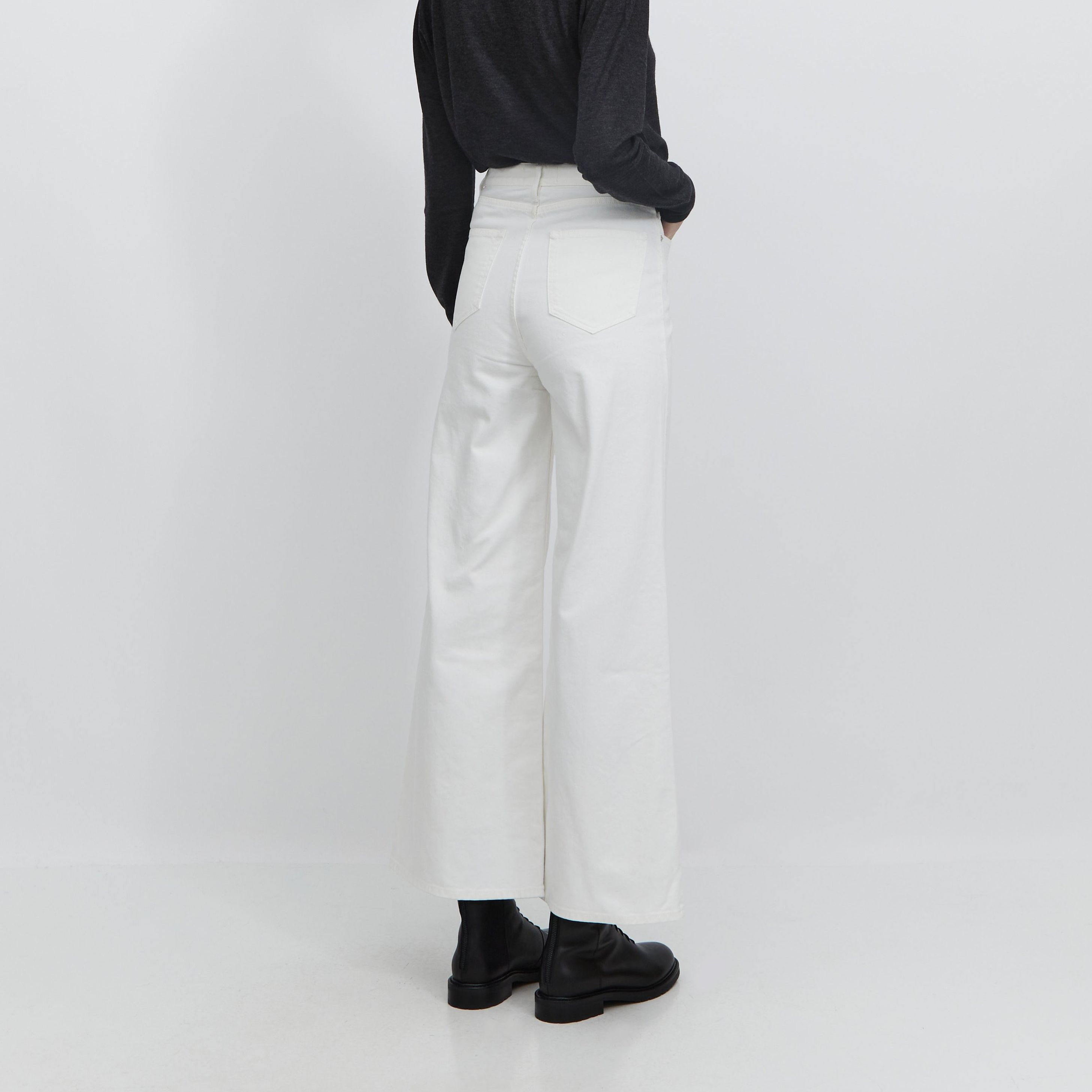 Romy Wide 5 Pocket Denim Jeans