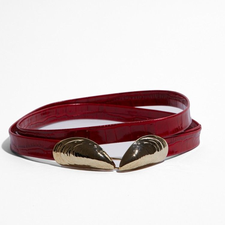 mussels belt Red i love