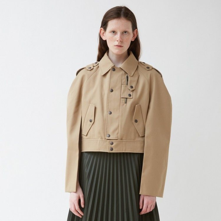 Cropped Trench