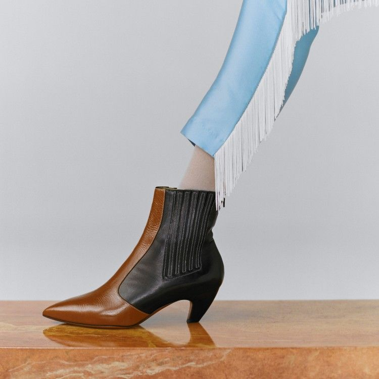 Kati Black Cognac Calf