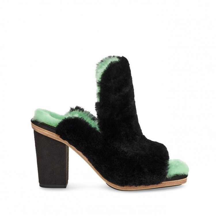 COURT MULE OPEN TOE