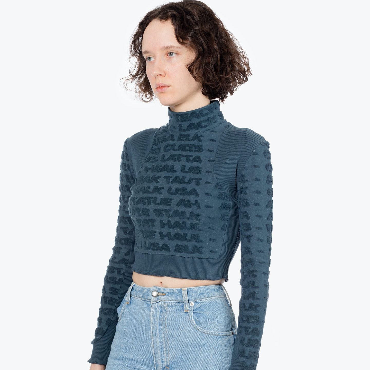 ANAGRAM CROPPED TURTLENECK