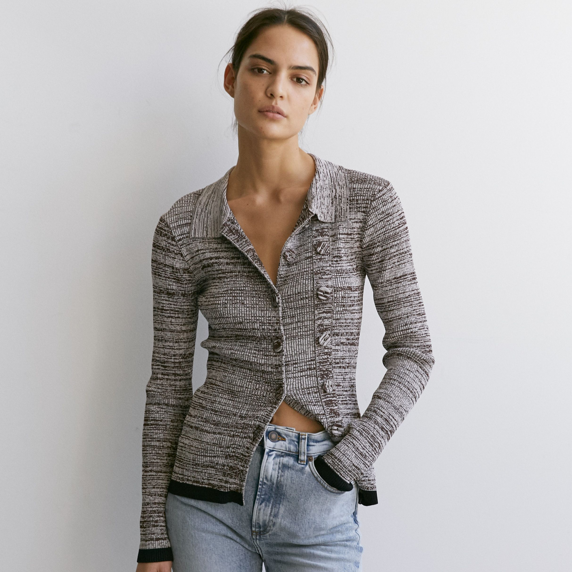 Double Button Cardigan