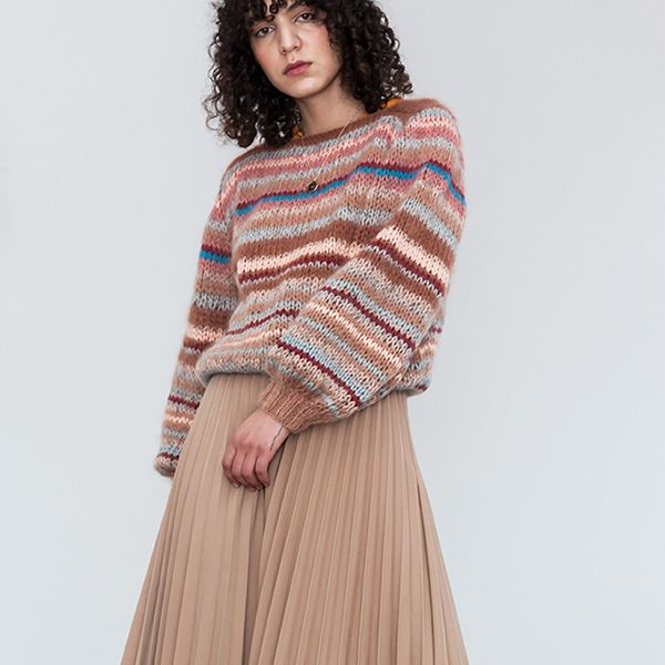 Thin Stripe Pullover